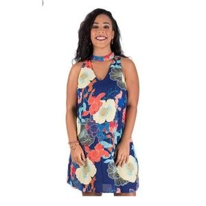 Luxology Vibrant Floral Dress NWT SZ 12